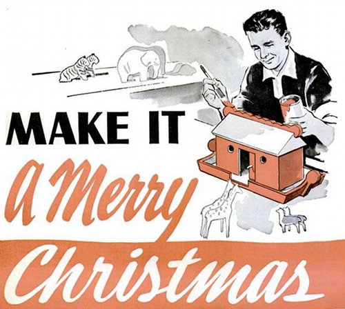 diy christmas gifts for men vintage illustration