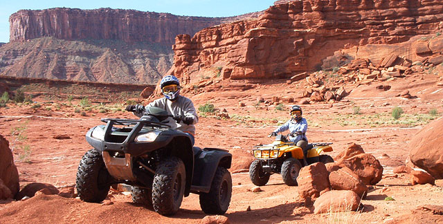 Moab and Paiute ATV Trail, Utah