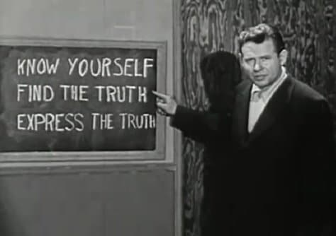vintage instructional film know yourself find express truth