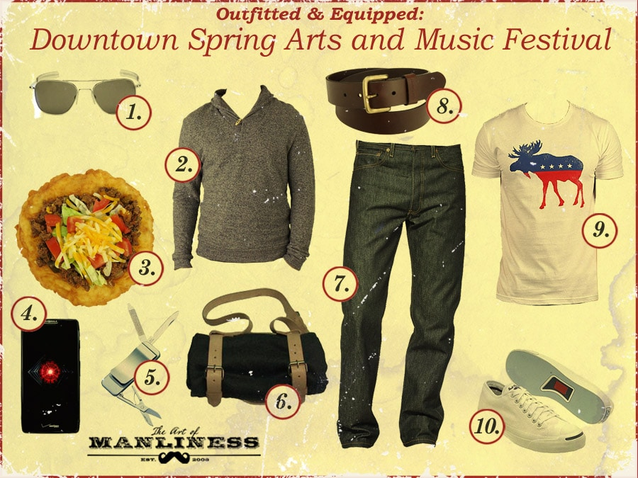 what to wear to a music and arts festival