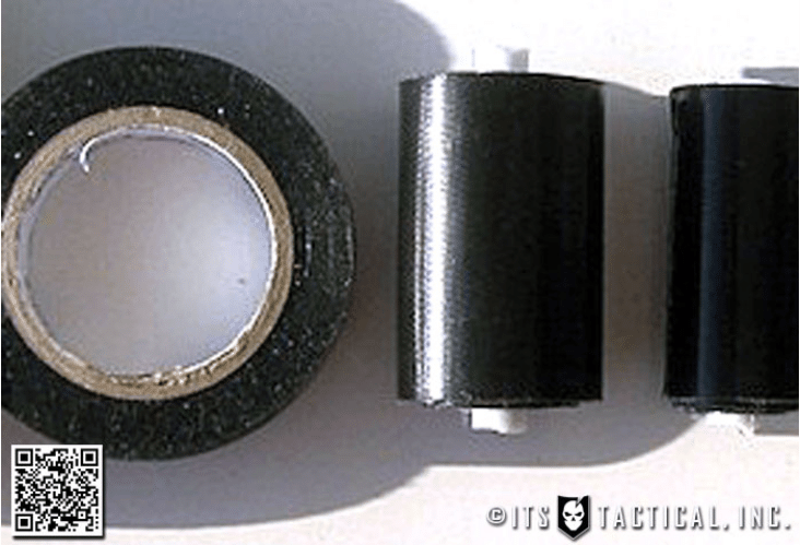 Mini duct tape roll to carry in pocket.