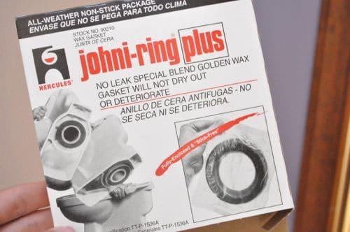 Gasket box of johni-ring plug rings.