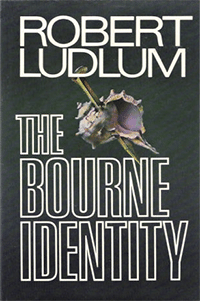Book cover of The Bourne Trilogy by Robert Ludlum.