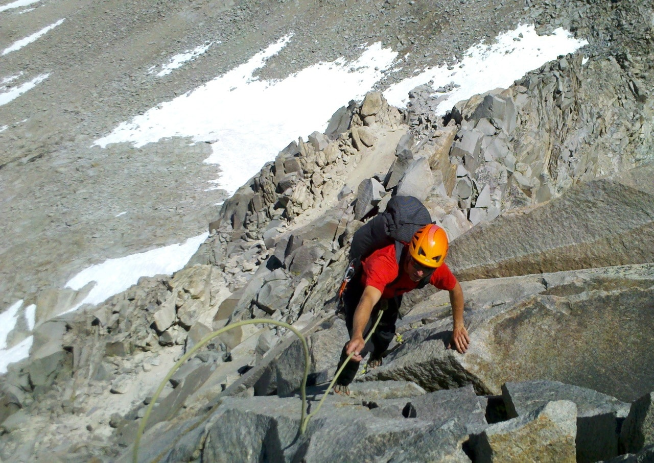 rock climber guide kings canyon national park climbing