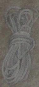 Vintage rope material illustration.
