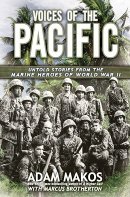 voices of the pacific book cover adam makos marcus brotherton