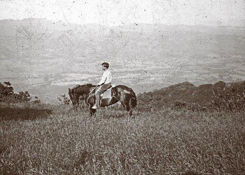 Jack london horseback Valley of the Moon ranch Glen Ellen, California.