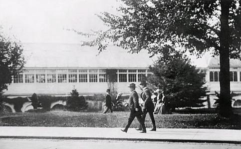 theodore roosevelt walking to work 1901