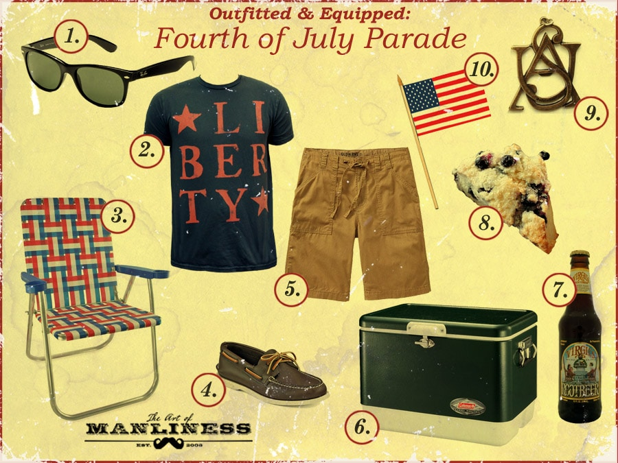 what to wear and bring to a 4th of july parade