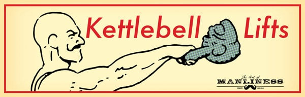 photo regarding Printable Kettlebell Workout called Kettlebell Fitness Agenda The Artwork of Manliness