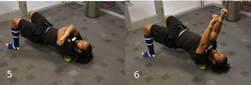 Foam roller exercises for back roller.