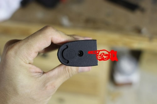 where to insert gas on airsoft pistol