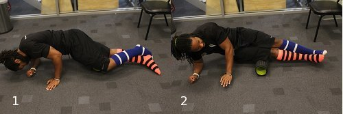 foam roller exercises for it band