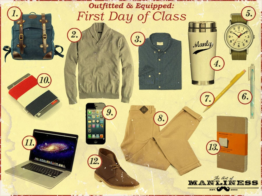 what to wear on the first day of class