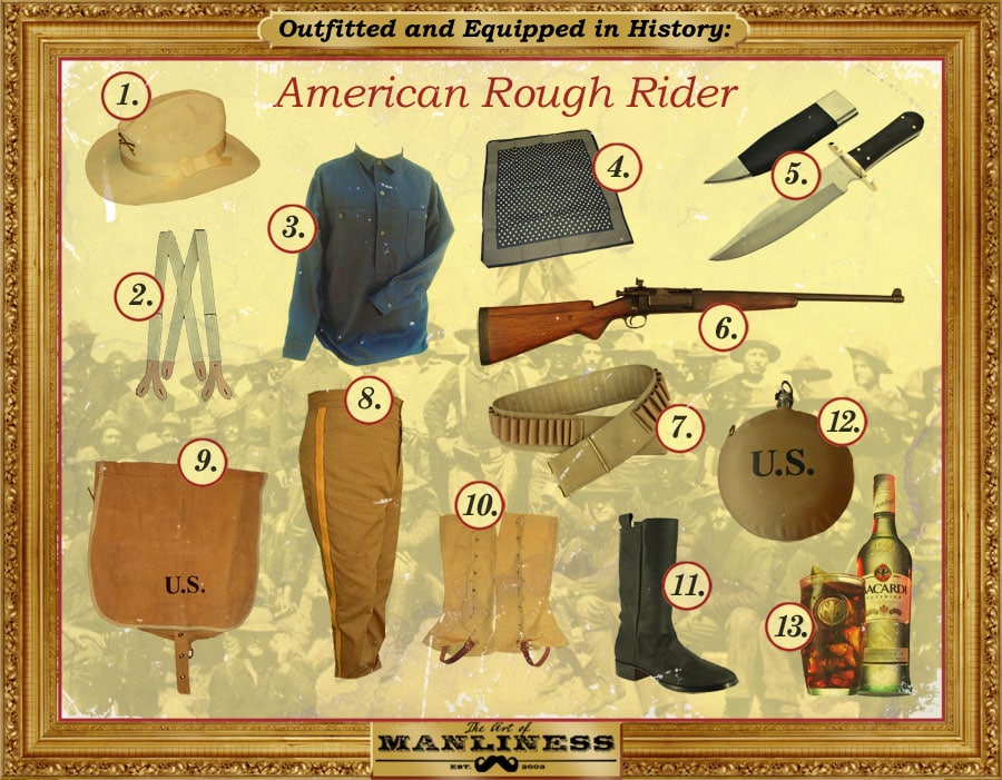 american rough rider outfit military gear