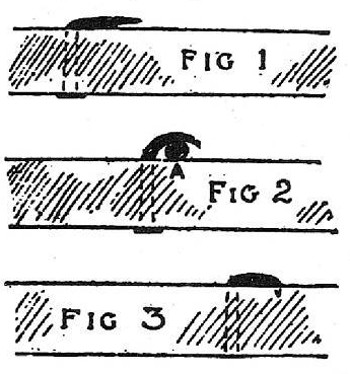 boy scouts vintage illustration flatten nail heads