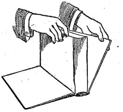 boy scouts vintage illustration open a book