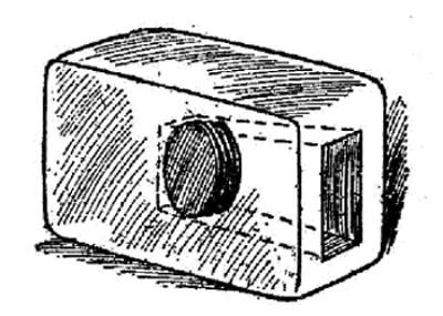 boy scouts vintage illustration hidden soap safe