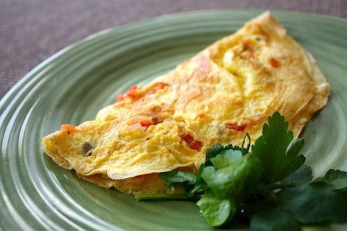 Crab Omelet