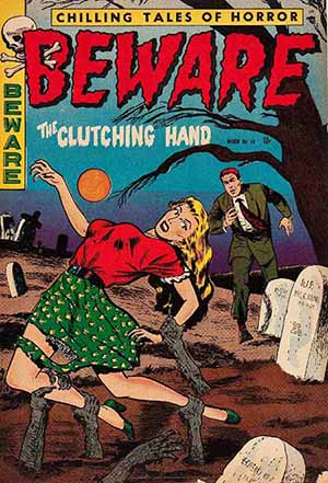 Vintage the beware the cutting hand.