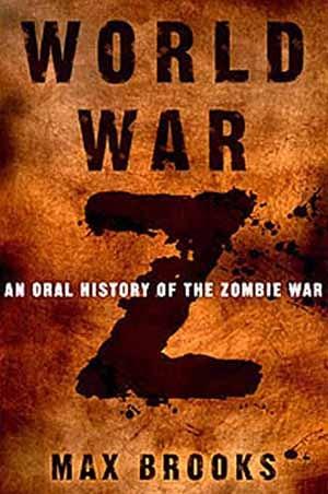 Vintage author Max Brooks published world war z zombie.