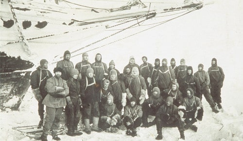 ernest shackleton antarctic expedition crew photo