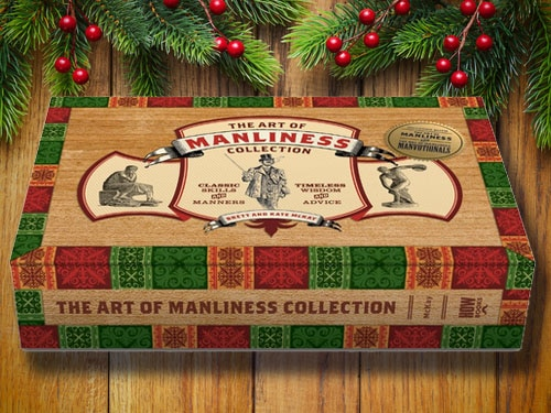 Art of manliness boxed set collection.