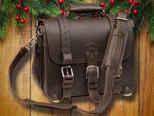 Saddleback brief with christmas background.