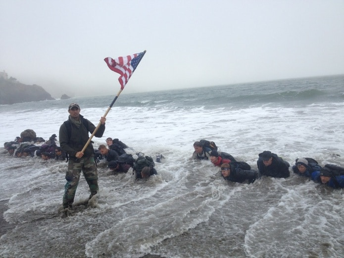 Goruck challenge - group bonding events.