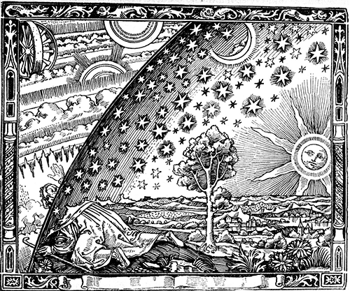 the flammarion wood engraving