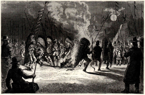 black white illustration native american war chief dance fire