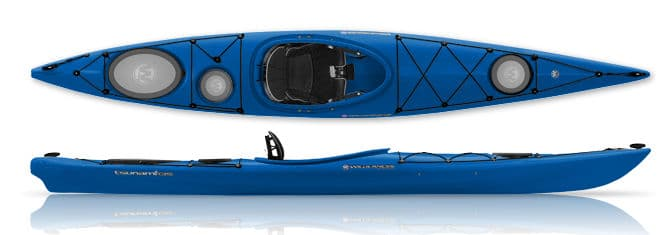 Day Touring or Light Touring boats look like sea kayaks but are shorter and wider.