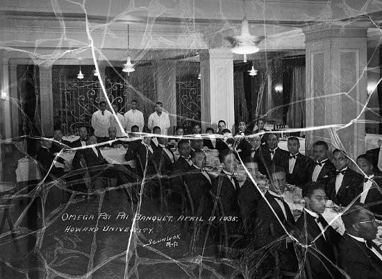 Howard university omega psi banquet 1935.