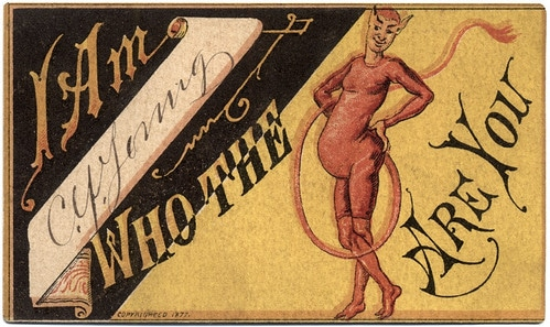 May I See You Home? 19th Century Calling Cards Guaranteed to Score You a Date | The Art of Manliness
