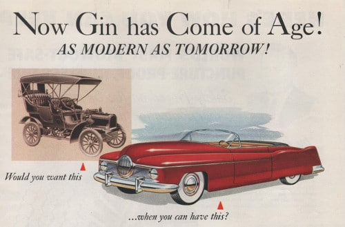 vintage gin ad advertisement