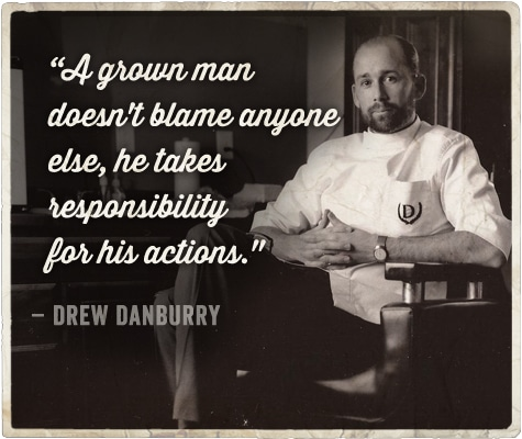 Life advice from barber on being a man Drew Danburry.