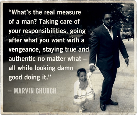 life advice from barber on being a man marvin church