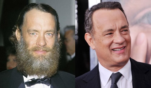 A beard man looks more aggressive comparative to clean shaven man.