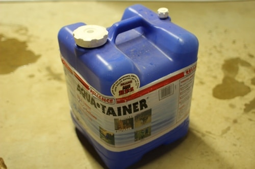 smaller water storage jug