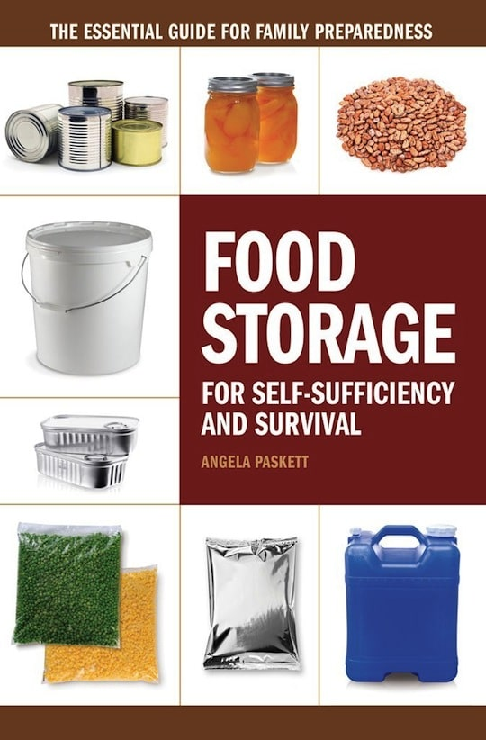 Book Cover,Food Storage by Angela Paskett.