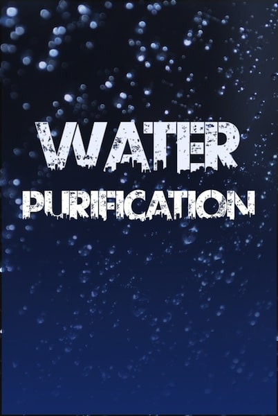 Water Purification by Will Jameson book cover