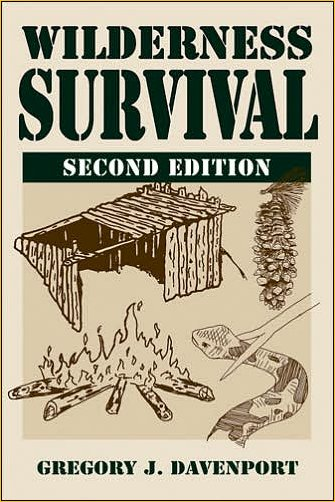 Wilderness Survival by Gregory J. Davenport book cover