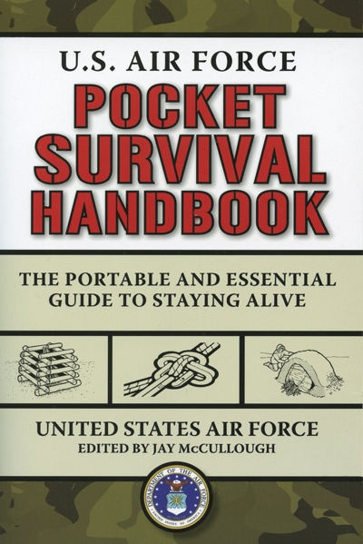US Air Force Pocket Survival Manual book cover