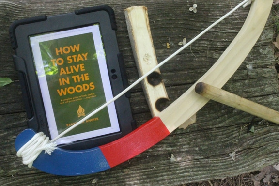 how to stay alive in the woods by bradford angier on kindle