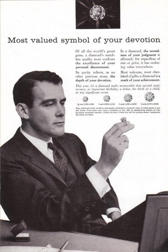 vintage de beers ad advertisement most valued symbol