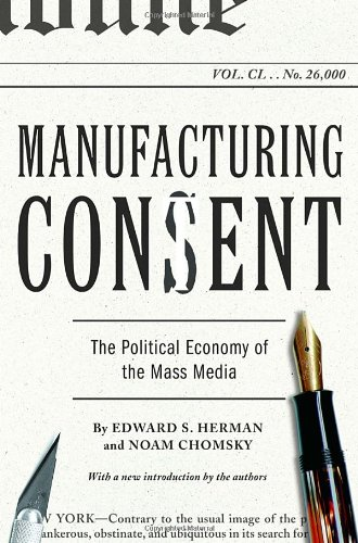 Manufacturing Consent by Edward S. Herman and Noam Chomsky book cover