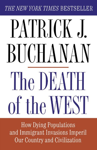 death of the west Patrick J. Buchanan book cover