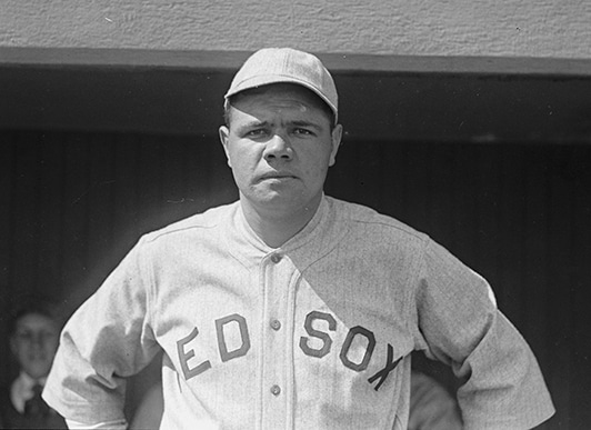babe ruth red sox 1918