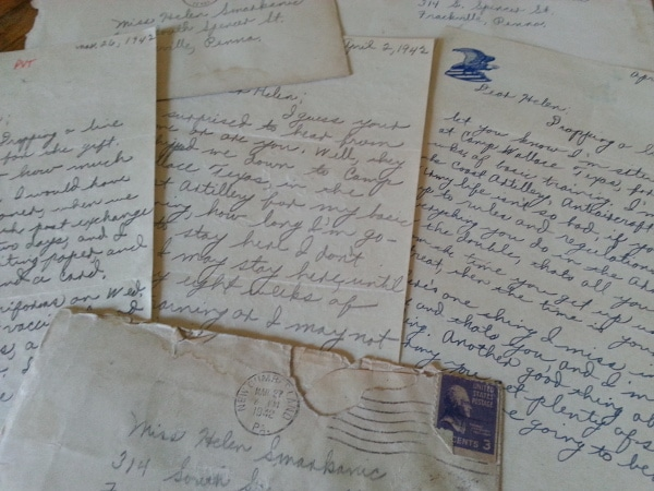 Letters Home 1943