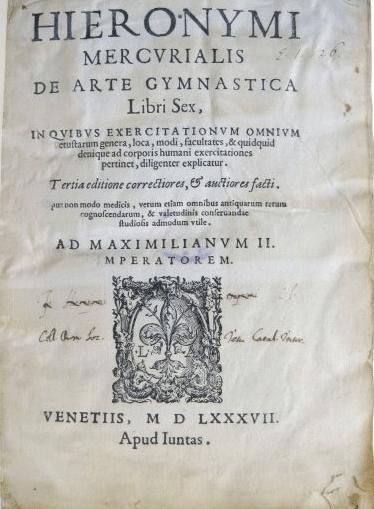 mercurialis de arte gymnastica book cover